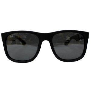 Ray-Ban Sunglasses Grey Silver Mirrored Lens
